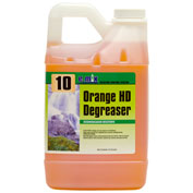 CBI #10 e.mix Orange HD Degreaser, Citrus Scent, 64oz. Bottle 4/Case - EM010-644