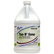Nyco Tan B' Gone - Brown Out, Rinse, Tannin Spotter, Acidic Scent, Gallon Bottle 4/Case - NL528-G4