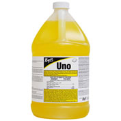 Nyco Uno Lemon Disinfectant 64:1 Dilution, Lemon Scent, Gallon Bottle 4/Case - NL760-G4