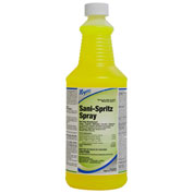 Nyco Sani-Spritz Spray - RTU Disinfectant, Lemon Scent, 32 oz. Bottle 12/Case - NL763-Q12