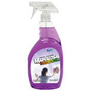 Nyco Marvalosa Multi-Surface & Glass Cleaner, Lavender Scent, 32 oz. Bottle 9/Case - NL906-QPS9