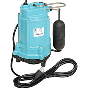 Little Giant 509209 9EN Series Sump Pump - 20' Power Cord & Float Switch
