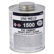 Oatey 1536S 1500 Series PVC Heavy Duty Clear Cement 32 oz. - Pkg Qty 12