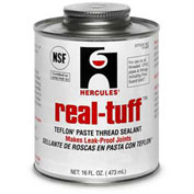 Hercules 15632 Real Tuff Thread Sealant- Screw Cap With Brush 1 Qt. - Pkg Qty 12