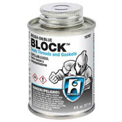 Hercules 15716 Block Thread Sealant- Screw Cap With Brush 1 Qt. - Pkg Qty 12
