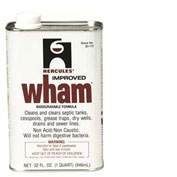Hercules 20110 Wham Waste System Cleaner 1 qt. - Pkg Qty 12