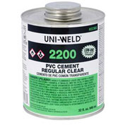 Oatey 2236S 2200 Series PVC Regular Clear Cement 32 oz. - Pkg Qty 12