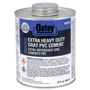 Oatey 30343 EP13 PVC Extra HD Gray Cement 32 oz. - Pkg Qty 12