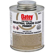 Oatey 30775 Industrial Grade Clear Primer 1 Gallon, NSF Listed - Pkg Qty 6