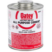 Oatey 30848 All Purpose Cement 1 Gallon - Pkg Qty 6