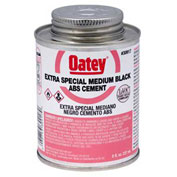 Oatey 30920 ABS Extra Special Black Cement 1 Gallon - Pkg Qty 6