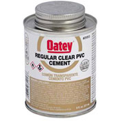 Oatey 31015 PVC Regular Clear Cement 32 oz. - Pkg Qty 12