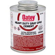 Oatey 31036 CPVC Heavy Duty Gray Cement 16 oz. - Pkg Qty 24