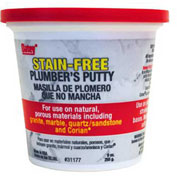 Oatey 31177 Stain-Free Plumber's Putty 9 oz. - Pkg Qty 18