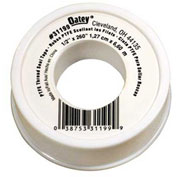 """Hercules 31202 White General Purpose Thread Seal Tape With PTFE 1/2"""" x 520"""" - Pkg Qty 144"""