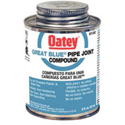 Oatey 31263 Great Blue Pipe Joint Compound 16 oz. - Pkg Qty 24