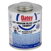 Oatey 32161 PVC Blue Lava Hot Cement 8 oz. - Pkg Qty 24