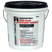Hercules 35515 High Heat Furnace Cement Regualr Body 1/2 Gallon - Pkg Qty 6