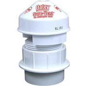"Oatey 39239 Sure-Vent Air Admittance Valve 6 DFU Capacity 1-1/2"" Installation Kit - Pkg Qty 6"