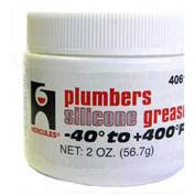 Hercules 40610 Plumbers Silicone Grease - Pkg Qty 24