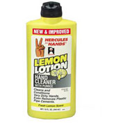 Hercules 45314 Hercules For Hands - Lemon Lotion Hand Cleaner - Flip Top Cap 15 oz. - Pkg Qty 12