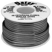 "Oatey 53170 95/5 Acid Core Wire Solder .081"" Gauge, 1/2 lb - Pkg Qty 10"
