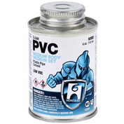 Hercules 60025 PVC - Clear, Medium Body, Medium Set Cement 1 gallon - Pkg Qty 6