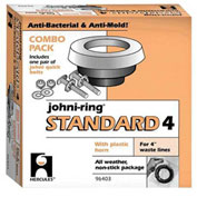 "Hercules 96401 3"" or 4"" Johni-Rings - Regular Flat Ring, Combo Pack - Pkg Qty 48"