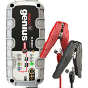 NOCO Genius 15 Amp UltraSafe Battery Charger with JumpCharge Engine Start, 12/24V - G15000