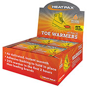 Hot Rods Toe Warmers Heat Packs Display Pack (40 Pairs)
