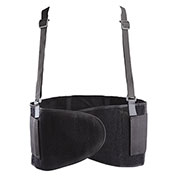 Value Super Maxx Back support 2-Panel w/Detachable Suspenders, Large