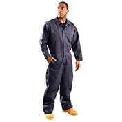 Classic Indura® Flame Resistant Coverall, Navy, 3XL