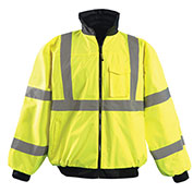 Hi-Vis Value Bomber Jacket, Hi-Vis Yellow, 4XL