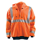 Hi-Vis Premium Wicking Hoodie, Hi-Vis Orange, XL