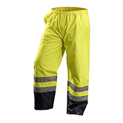 Premium Breathable Pants, Waterproof, Hi-Vis Yellow, XL