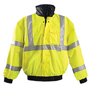 Premium Original Bomber Jacket, Hi-Vis Yellow 2XL