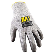 Occunomix OK-120-012 Cut Protection Gloves, ANSI Cut Level 2, S