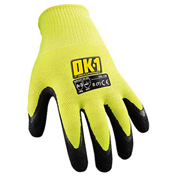 Occunomix OK-130-014 Cut Protection Gloves, ANSI Cut Level 3, L