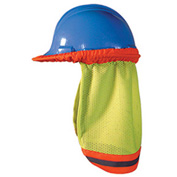 OccuNomix High Visibility Mesh Hard Hat Shade, Lime, One Size Fits Most