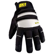 Occunomix OK-IG300-B-12 Waterproof Winter Protection Glove, Black/Reflective, S