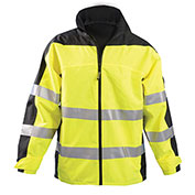 Speed Collection® Premium Breathable Rain Jacket, Hi-Vis Yellow, M
