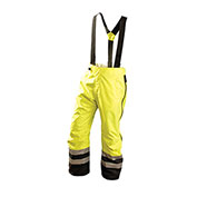 Speed Collection® Premium Breathable Rain Pants, Hi-Vis Yellow, M