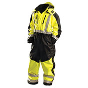 Speed Collection® Premium Cold Weather Coverall, Hi-Viz Yellow, XL