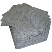 "Oil-Dri® Universal Mid-Weight Perforated Pads, 15"" x 19"", 100/Box"