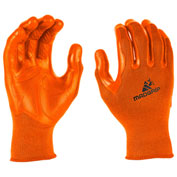 Mad Grip Pro Palm Performance Work Glove, High Vis Orange, XXL, 0MG2F5-HIVSOR-XXLarge