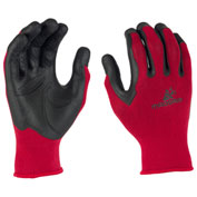 Mad Grip Pro Palm Performance Work Glove, High Vis Red/Black, L/XL, 0MG2F5-REDBLK-L/XL