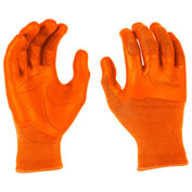 Mad Grip Pro Palm Knuckler Performance Work Glove, High Vis Orange, XXL, 0MG3F5-HIVSOR-XXLarge
