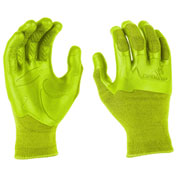 Mad Grip Pro Palm Knuckler Performance Work Glove, High Vis Yellow, XXL, 0MG3F5-HIVSYL-XXLarge