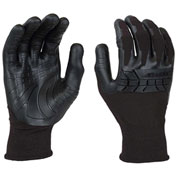Mad Grip Pro Palm Plus Glove, Black/Black, S, PPPBLKRS
