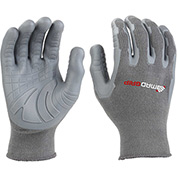 Mad Grip Pro Palm Rhino Glove, Gray, S, PPRGRYRS